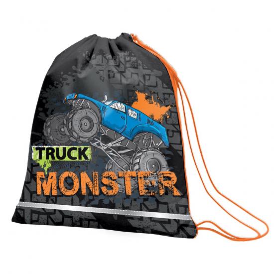 """Сумка для обуви SMART SB-01 """"Monster Truck"""", черный"""
