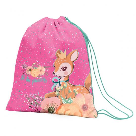 """Сумка для обуви 1Вересня SB-10 """"Forest princesses"""", розовый"""