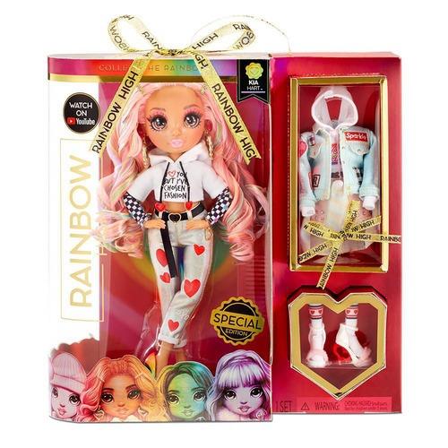 Коллекционная кукла RAINBOW HIGH - КИА СЕРДЕЧКО (с аксессуарами)