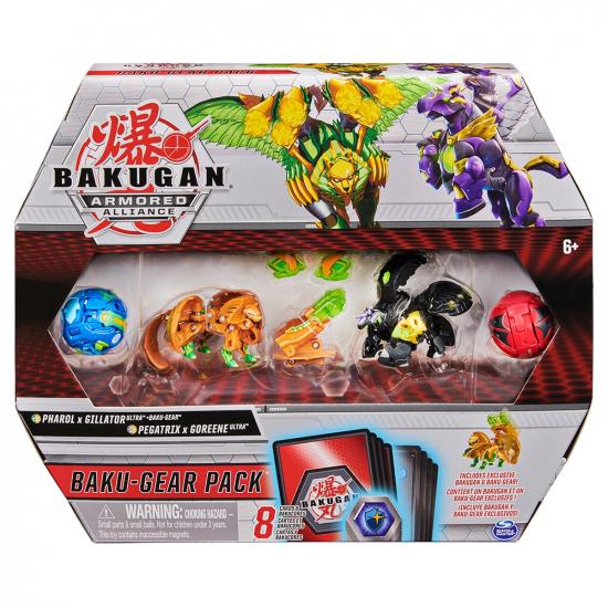 Bakugan Armored Alliance: Боевой набор из четырех бакуганов с оружием (Фарол и Пегатрикс)